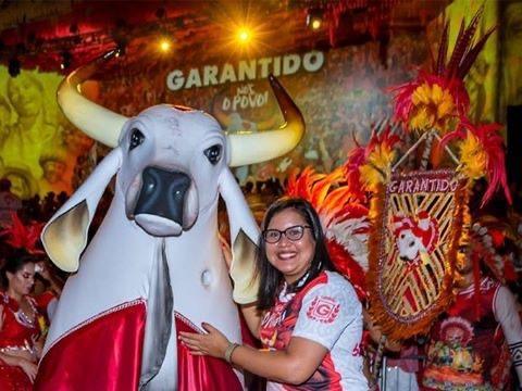 Bisneta do fundador do Garantido representa o Brasil em seminário de cultura na Áustria