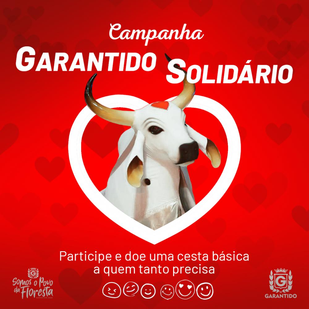 Garantido lança campanha solidária em prol dos parintinenses