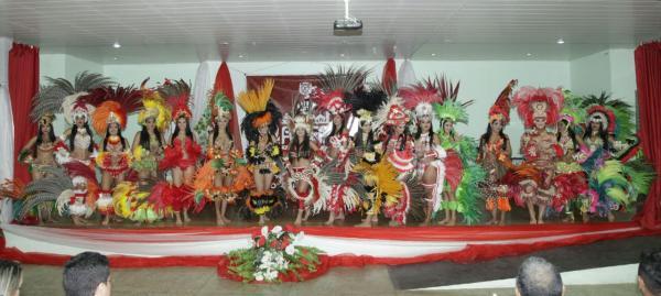 Garantido realiza eliminatória do concurso Rainha do Folclore